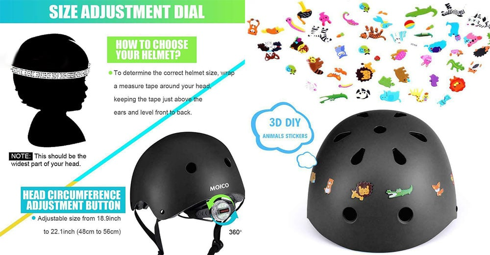 moico helmet for toddlers